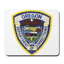 Oregon Corrections Mousepad
