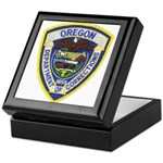 Oregon Corrections Keepsake Box