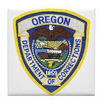 Oregon Corrections Tile Coaster
