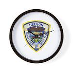 Oregon Corrections Wall Clock