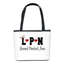 LPN Nurse Bucket Bag