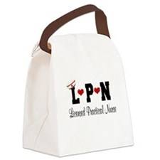 LPN Nurse Canvas Lunch Bag