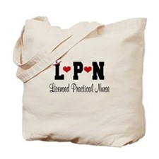 LPN Nurse Tote Bag
