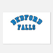 Bedford Falls Blue Postcards (Package of 8)