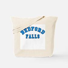 Bedford Falls Blue Tote Bag
