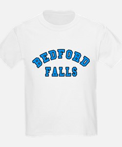 Bedford Falls Blue Kids T-Shirt