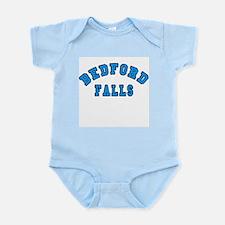 Bedford Falls Blue Infant Bodysuit