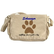 Just A Dog Schnauzer Messenger Bag