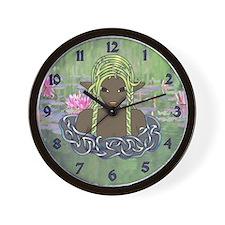 Naiad Wall Clock