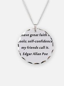 Self-Confidence Poe Necklace