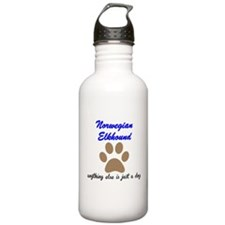 Just A Dog Norwegian Elkhound Sports Water Bottle