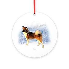 Icelandic Christmas Ornament (Round)