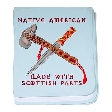 Native American/Scots baby blanket