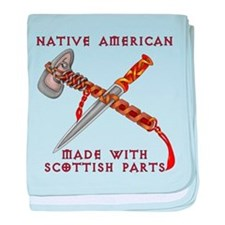 Native American/Scots baby blanket