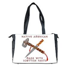 Native American/Scots Diaper Bag