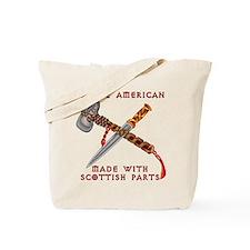 Native American/Scots Tote Bag