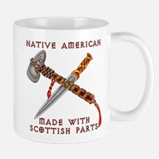Native American/Scots Mug