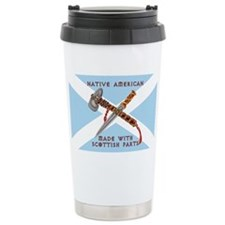Native American/Scots Travel Mug