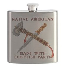Native American/Scots Flask