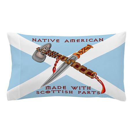 Native American/Scots Pillow Case