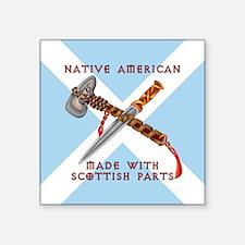 Native American/Scots Sticker
