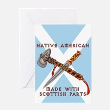 Native American/Scots Greeting Card