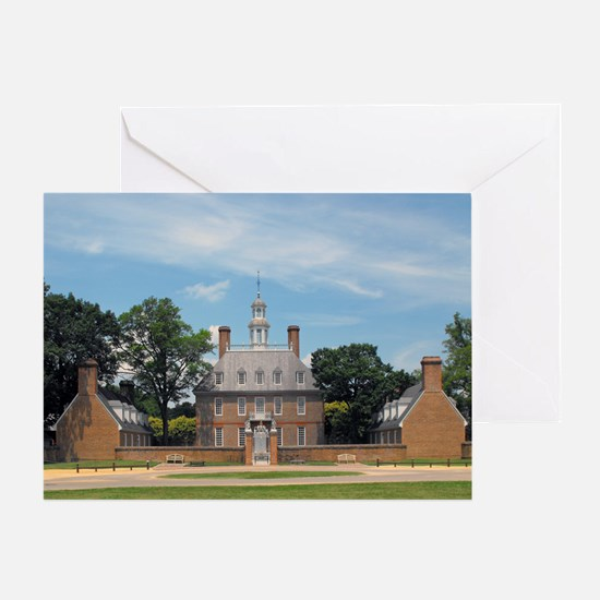 Governors Palace Greeting Card
