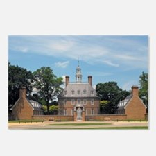 Governors Palace Postcards (Package of 8)