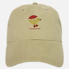 Personalized Duck in Boots Baseball Baseball Cap