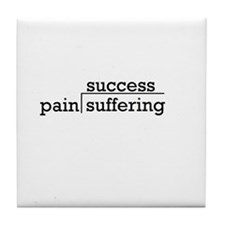 Pain & Suffering Tile Coaster