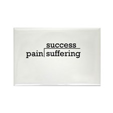 Pain & Suffering Rectangle Magnet