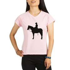 Canadian Mountie Silhouette Performance Dry T-Shir