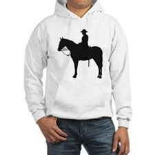 Canadian Mountie Silhouette Hoodie