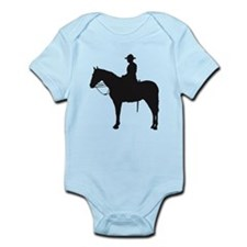 Canadian Mountie Silhouette Infant Bodysuit