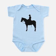 Canadian Mountie Silhouette Infant Bodysuit