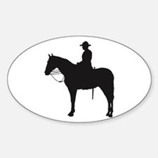 Canadian Mountie Silhouette Decal