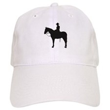 Canadian Mountie Silhouette Baseball Cap