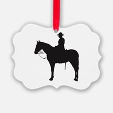 Canadian Mountie Silhouette Ornament