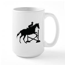 Horse Jumping Silhouette Mug