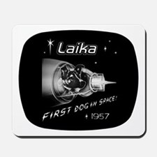 LAIKA First Dog in Space! Mousepad