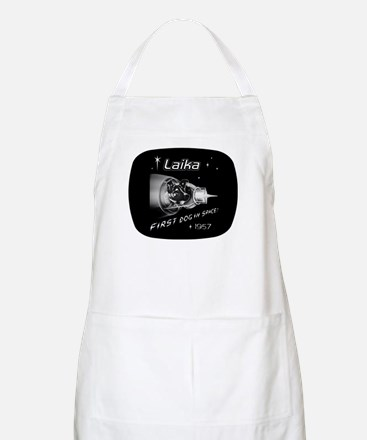 LAIKA First Dog in Space! BBQ Apron