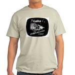 LAIKA First Dog in Space! Ash Grey T-Shirt