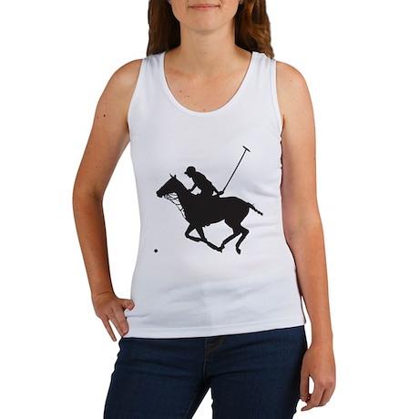Polo Pony Silhouette Women's Tank Top