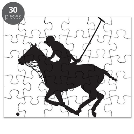 Polo Pony Silhouette Puzzle