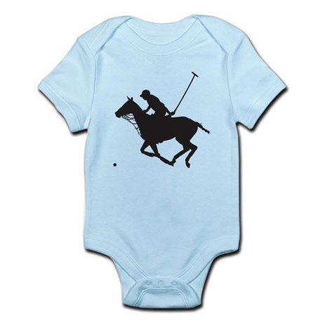 Polo Pony Silhouette Infant Bodysuit