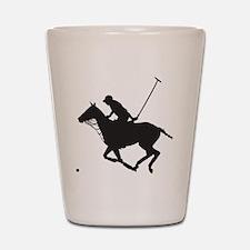 Polo Pony Silhouette Shot Glass
