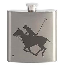 Polo Pony Silhouette Flask