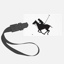 Polo Pony Silhouette Luggage Tag