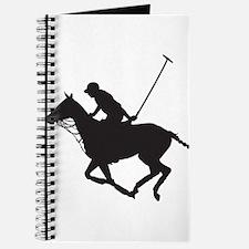 Polo Pony Silhouette Journal