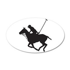 Polo Pony Silhouette Wall Decal